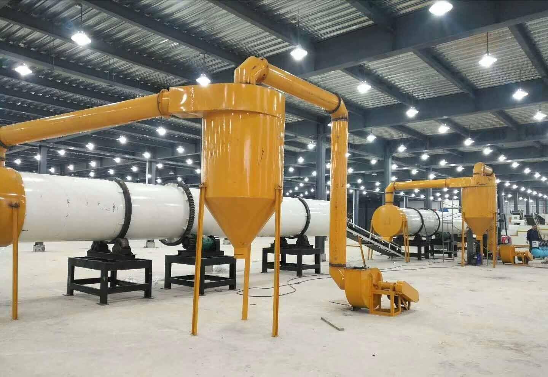 年产2万吨牛粪有机肥生产线